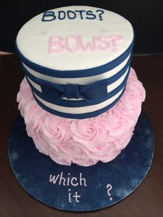 Gender reveal - which will it be?