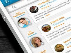 Dribbble - iPhone App - Reviews by Anke Mackenthun