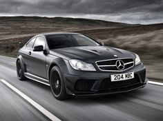 Mercedes C63 AMG Black Series Magno Black Night