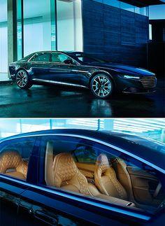 Aston Martin Lagonda Sedan - With its hand-built carbon fiber body and a V12 powerplant, the new Lagonda sedan from Aston Martin is both light and powerful, reaching speeds over 175MPH.