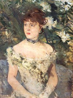 Berthe Morisot.  See The Virtual Artist gallery: www.theartistobjective.com/gallery/index.html