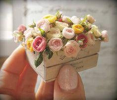 Gosia Suchodolska wonderful mini creations Z Miniature Plants, Miniature Dolls, Miniature Houses, Miniature Food, Diy Dollhouse, Dollhouse Miniatures, Diy And Crafts, Paper Crafts, Mini Plants