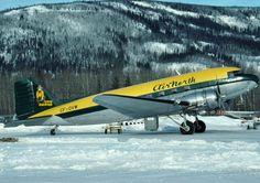 Air North, Douglas Dc3, Douglas Aircraft, Commercial Aircraft, Civil Aviation, Old Photos, Airplane, Trains, Automobile
