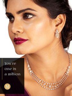 Diamond Necklace Simple, Diamond Initial Necklace, Gold Jewelry Simple, Diamond Bracelets, Diamond Jewellery, Gold Bangles Design, Jewelry Design Earrings, Jewels, Fashion