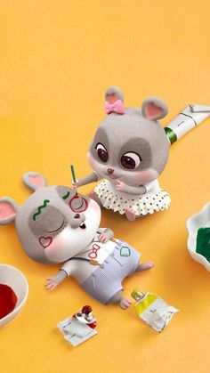 Rabbit Wallpaper, Chibi Wallpaper, Cute Girl Wallpaper, Cute Disney Wallpaper, Wallpaper Iphone Cute, Cute Bunny Cartoon, Cute Kawaii Animals, Cute Cartoon Pictures, Wallpaper Nature Flowers