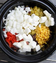 Gonna Want Seconds: Mexican Cream Cheese Crock Pot Chicken