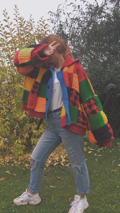 Handmade Clothes, Diy Clothes, Crochet Clothes, Harry Styles, 70s Inspired Fashion, Look Girl, Cool Outfits, Fashion Outfits, Lgbt