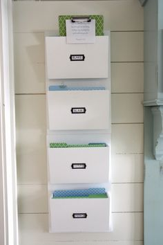 Metal Wall File Organizer In Wall Mount File Racks....check Amazon; Itu0027s  Available With Prime | Needs | Pinterest | Wall File Organizer, Wall File  And Metal ...