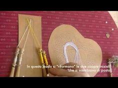▶ Le Basi del Tombolo 2: girata e incrocio, punto treccia (treccina) - YouTube