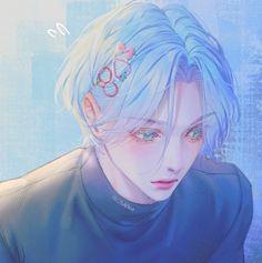 Anime Boys, Cute Anime Boy, Anime Art Girl, Anime Boy Hair, Fanarts Anime, Anime Characters, Anime Demon, Manga Anime, Photographie Indie