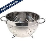 With a name like Jacob Bromwell®, we know a thing or two about colanders. Celebrate the art of cooking with a colander that's as timeless as some of grandma's favorite recipes. This stainless steel colander features an iconic shape and design, and much to our delight it has become a favorite among serious cooks and collectors across America.