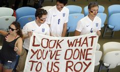 England fans support Germany after dismal display in Brazil