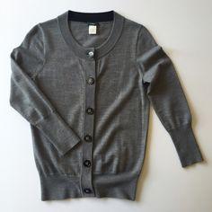 J. Crew Rhinestone Button Cardigan EUC. No flaws. 100% Merino Wool. J. Crew Sweaters Cardigans