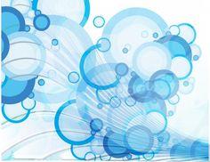 抽象的な泡ベクトルグラフィック