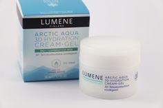 """Minna from Glitz & Glam blog warmly recommend Lumene Arctic Aqua 3D Hydration Cream-Gel for summertime skincare. """"It feels light and fresh and really helps control oily skin"""", she says. #skincare #lumene"""
