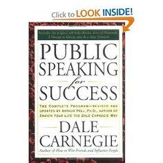 Public Speaking for Success: Dale Carnegie: 9781585424924: Amazon.com: Books #publicspeakingforsuccess