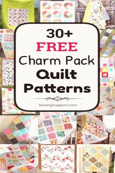 #Charm #pack #using #projects Free Quilt Patterns using Charm Pack fabric bundles 30 diy projects and tutorials for quilts using charm packs 5 inch squaresbrp classfirstletterThe maximum current page sharing about quiltingpIf you dont like everything fabric part of the photo we offer you when you read this image is exactly the features you are looking for you can see In the Picture 30 Free Charm Pack Quilt Patterns Free Quilt Patterns using Charm Pack fabric bundles 30 diy pro we say that we… Free Baby Quilt Patterns, Scrappy Quilt Patterns, Beginner Quilt Patterns, Quilting For Beginners, Scrappy Quilts, Quilting Ideas, Modern Quilting, Patchwork Quilting, Quilting Fabric