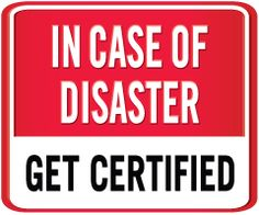 Help create a National Healthcare Disaster Certification