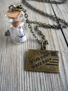 Message in a Bottle Necklace Secret Treasures. - www.barasfoundation.org