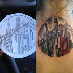 Awesome city tattoo   http://tattoo-ideas.us/awesome-city-tattoo/  http://tattoo-ideas.us/wp-content/uploads/2013/06/Awesome-city-tattoo-1024x1024.jpg