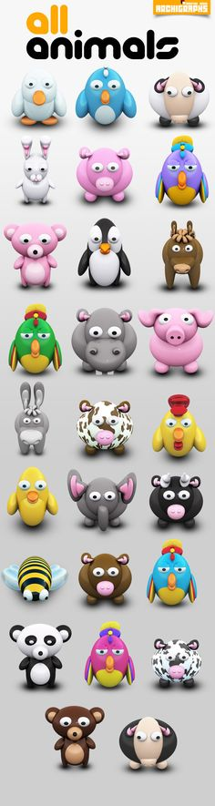 "Archigraphs ""All Animals"" Icons Set created for free use. Now for MacOs X, and Windows Vista. PNG files included. For more free stuff, visit: And the blog:"