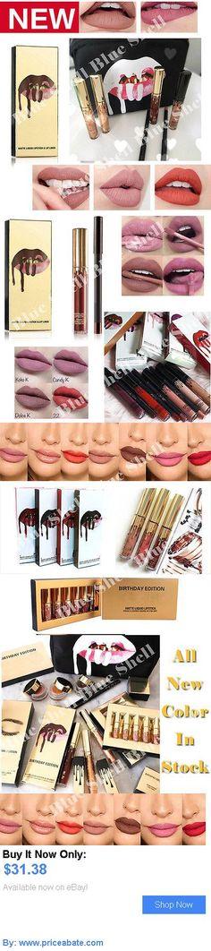 Beauty Makeup: Waterproof Lip Gloss Long Lasting Lipstick Matte Liquid Lip Liner Cosmetics Set BUY IT NOW ONLY: $31.38 #priceabateBeautyMakeup OR #priceabate