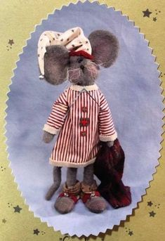 Cornelius - Whimsical Mouse PATTERN -SNS152