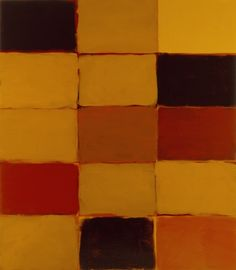 "Sean Scully ""Big Yellow Robe"""