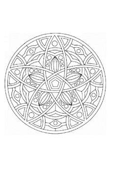 mandala | Mandala | Dibujos para pintar
