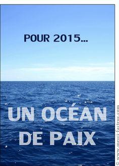 Carte Un océan de paix pour la nouvelle année pour envoyer par La Poste, sur Merci-Facteur ! #voeux