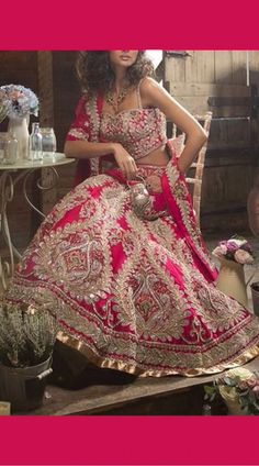 Today I have posted gorgeous designs of Bridal Dresses 2017 which are very popular. Indian Wedding Lehenga, Bridal Lehenga Choli, Pakistani Bridal, Bridal Lenghas, Walima, New Lehenga Design, Lehenga Designs, Bridal Dresses 2017, Bridal Outfits