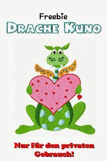 Die Krabbel Krabbe: Freebie Drache Kuno