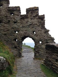 Tintagels Castle, Cornwall