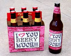 A Scrap of Time: I Love You Beery Much