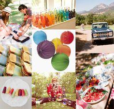 beyond the big day: a summer popsicle picnic | Design*Sponge