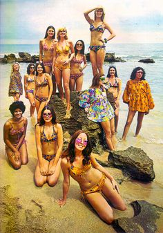 Bobbie Brooks   Seventeen Mar 73. When beachwear was actually cute