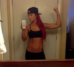 Eva Marie-killer body! Gotta keep pushing myself!