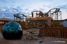 Six Flags, a theme park located in New Orleans East, has sat closed since Hurricane Katrina flooded it in 2005.