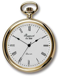 Rapport of London Silver Tone (Chrome) Pocket Watch with Swiss Movement Old Pocket Watches, Pocket Watch Antique, Pocket Watch Tattoos, Clock Tattoo Design, Mens Designer Watches, Antique Watches, Watches For Men, Seagull Tattoo, Peregrine