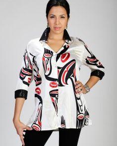 Dorothy Grant, Haida artist.
