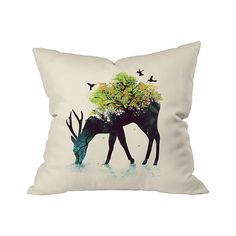 Imagine a hybrid of nature that's more beautiful and serene than this. The Tree of Life Outdoor Throw Pillow takes the imagination to new heights with its off-beat rendition of a tree in full bloom spr...  Find the Tree of Life Outdoor Throw Pillow, as seen in the Outdoor Pillow Sale  Collection at http://dotandbo.com/collections/outdoor-pillow-sale-2016?utm_source=pinterest&utm_medium=organic&db_sku=105602