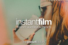 FREE (2 May-9 May 2016 only. Download now!) Instant Film - Lightroom Presets by The Preset Factory on @creativemarket