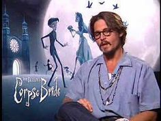 Corpse Bride, Johnny Depp, Interview, Handsome, Fictional Characters, Fantasy Characters