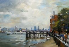 The Thames on the Southbank. London