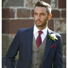 blue suit grey waistcoat cool - Google Search