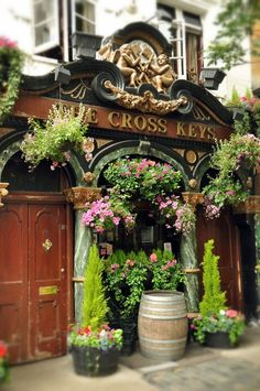 The Cross Keys - 31 Endell Street, Covent Garden, London