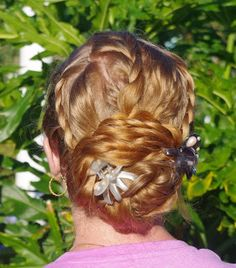 Braids & Hairstyles for Super Long Hair~ Boho hairstyle w/ lace braids