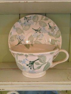 Emma Bridgewater Jasmine Tea Cup & Saucer