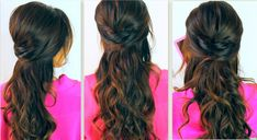 Prom Hairstyles For Medium Hair Half Up Half Down With Poof Gzzkrr ...
