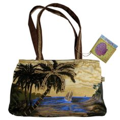 Maui Coastal Flair - Artistic Paul Brent Small Tote Bag, Palm Bay, $22.00 (http://www.mauicoastalflair.com/artistic-paul-brent-small-tote-bag-palm-bay/)
